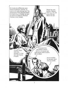 Extrait de Classiques illustrés (Éditions Héritage) -10- Les grandes aventures de Sherlock Holmes