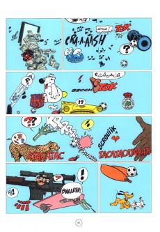Extrait de Abrégé de bande dessinée franco-belge