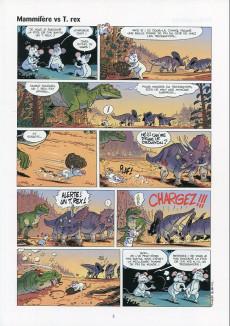 Extrait de Les dinosaures en bande dessinée -5- Tome 5