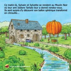 Extrait de Sylvain et Sylvette (Éditions P'tit Louis) -25- La course en ballon