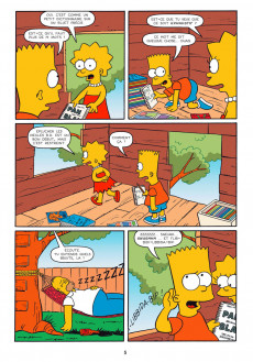 Extrait de Bart Simpson (Jungle !) -17- Trop la frime !