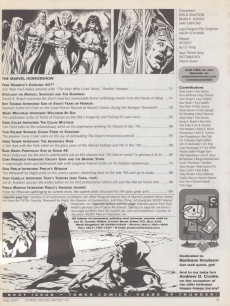 Extrait de (DOC) Comic Book Artist -13- Marvel Horror show