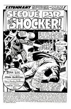 Extrait de L'Étonnant Spider-Man (Éditions Héritage) -6- Secoué par le Shocker !