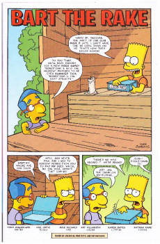 Extrait de Simpsons Comics (1993) -231- Bart The Rake
