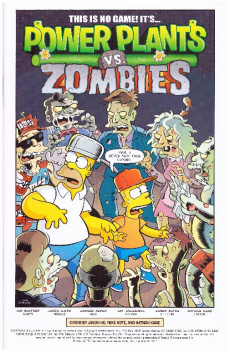 Extrait de Simpsons Illustrated -25- This one's a real monster mash-up!