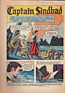 Extrait de Movie comics (Gold Key) -309- Captain Sindbad