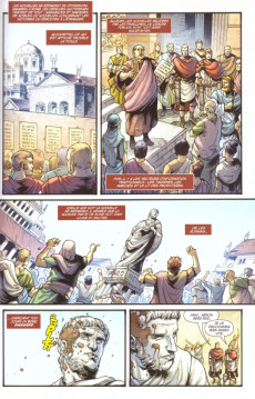Extrait de Britannia -3- Les Aigles perdus de Rome
