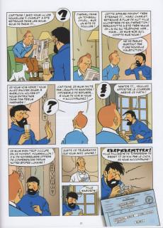 Extrait de Tintin - Pastiches, parodies & pirates - La créature des abîmes