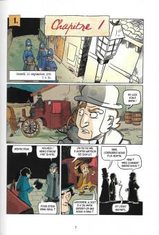 Extrait de Sherlock Holmes - La BD dont vous êtes le héros -5- L'ombre de Jack l'Eventreur