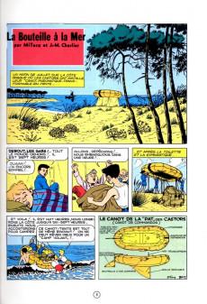 Extrait de La patrouille des Castors -5c1984- La bouteille à la mer