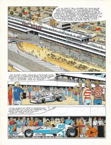 Extrait de Michel Vaillant -05PUBa78- Défi au Paul Ricard