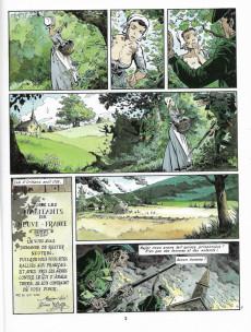 Extrait de Les pionniers du Nouveau Monde -6a1993- La mort du loup