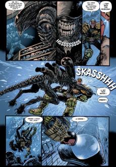 Extrait de Judge Dredd/Aliens/Predator -INT- La totale! triple dérouillée