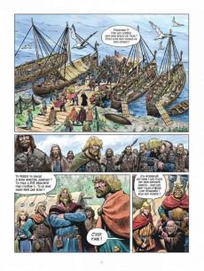 Extrait de Thorgal (Les mondes de) - La Jeunesse de Thorgal -7- La dent bleue