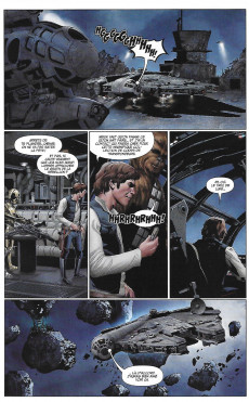 Extrait de Star Wars (Panini Comics - 2019) -1- Terrain dangereux
