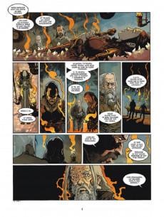 Extrait de Serpent Dieu -2- Le temple du dieu-corbeau