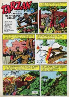 Extrait de Tarzan (Dell - 1948) -2- Tarzan and the Captives of Thunder Valley