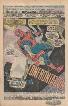 Extrait de The amazing Spider-Man Vol.1 (Marvel comics - 1963) -169- Confrontation