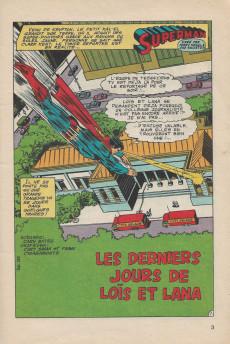 Extrait de Superman (Poche) (Sagédition) -5758- Les derniers jours de Loïs et Lana