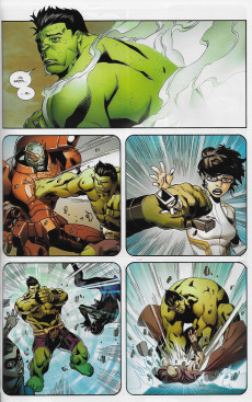 Extrait de Marvel Legacy - Avengers Extra (Marvel France - 2018) -5- World war Hulk II