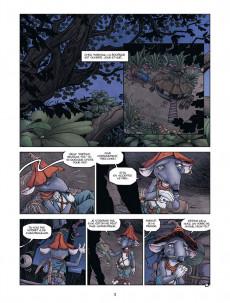 Extrait de Arthur et les Minimoys (2e Série) -1- La Course des 7 Terres
