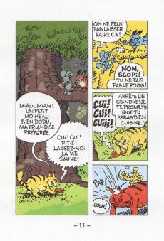 Extrait de Mini-récits et stripbooks Spirou -MR4227- Scopitone contre verjaune