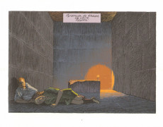Extrait de Blake et Mortimer -HS3TL1- Le Dernier Pharaon