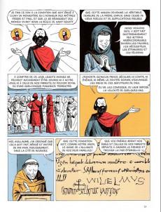 Extrait de Histoire dessinée de la France -6- Chevaliers, moines et paysans - De Cluny à la Première croisade