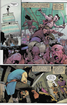 Extrait de Conan the Barbarian Vol 3 (Marvel - 2019) -5A- The Life & Death of Conan: part five - The Captain of the Ship of the Dead