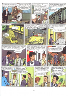 Extrait de Ric Hochet -3c1980- Défi à Ric Hochet