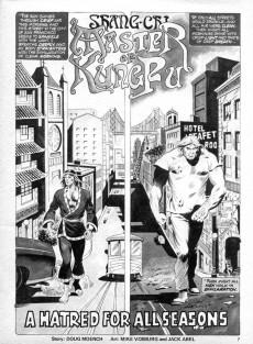 Extrait de Deadly Hands of Kung Fu (The) (Marvel - 1974) -8- Swords of Death