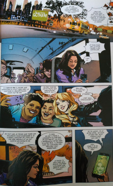 Extrait de Batman - Récit Complet (DC Presse) -12- Batgirl & les birds of prey : La boucle est bouclée