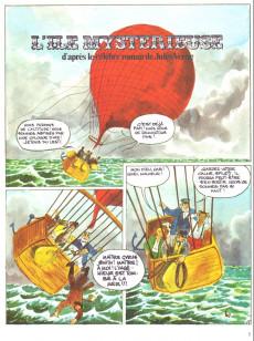 Extrait de Jules Verne (Le Journal de) - Aventures extraordinaires -Rec3- Album 3 - l'île mystérieuse