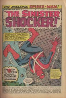 Extrait de The amazing Spider-Man Vol.1 (Marvel comics - 1963) -46- The Sinister Shocker!
