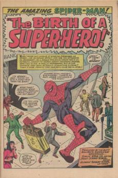 Extrait de The amazing Spider-Man Vol.1 (Marvel comics - 1963) -42- The Birth of a Super-Hero!