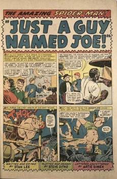 Extrait de The amazing Spider-Man Vol.1 (Marvel comics - 1963) -38- Just a Guy Named Joe!