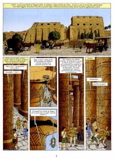Extrait de Lefranc - La Collection (Hachette) -18- La momie bleue