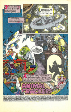 Extrait de Rocket Raccoon (1985) -1- Animal Crackers