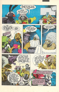 Extrait de Rocket Raccoon (1985) -3- The Book Of Revelations !