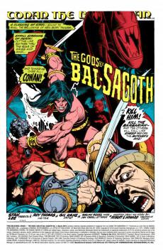 Extrait de True Believers: Conan (2019) - True Believers: Conan - The devil-god of Bal-Sagoth !