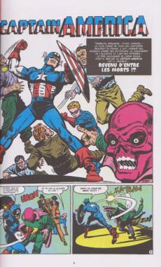 Extrait de Les décennies Marvel -2- Les années 50 : Captain America : La Légende