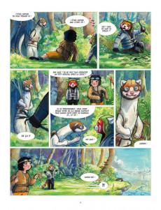 Extrait de Fleur de bambou -2- Le mystère de la forêt dévorée