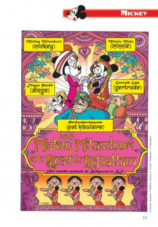 Extrait de Mickey Parade -370- Mickey Mitandoori et la rose du Rajasthan