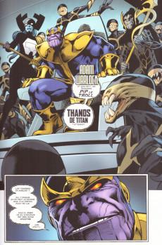 Extrait de Thanos : Le conflit de l'infini