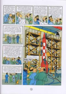 Extrait de Tintin (en langues régionales) -16Sarthois- La leune !... et qu'ça rouette !