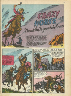 Extrait de Rin Tin Tin & Rusty (2e série) -19- La falaise des cheyennes - crazy horse