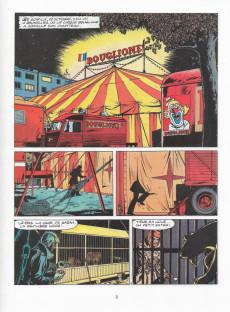 Extrait de Ric Hochet -25a1978- Coups de griffes chez Bouglione