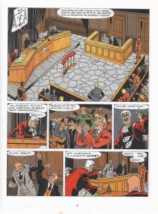 Extrait de Ric Hochet -32a1984- Tribunal noir