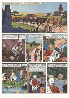 Extrait de Alix (en italien) -8- La tomba etrusca