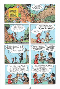 Extrait de Spirou et Fantasio -9b1996- Le repaire de la murène